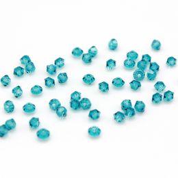 Биконусы 60230 Blue Zircon 3 мм 50 шт (Preciosa)