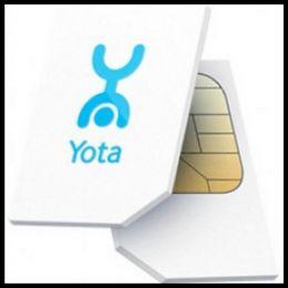 Sim карта Yota (для телефона)