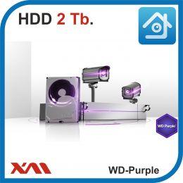 HDD 2 Tb Purple. Western Digital WD20PURZ. Жесткий диск 3.5.