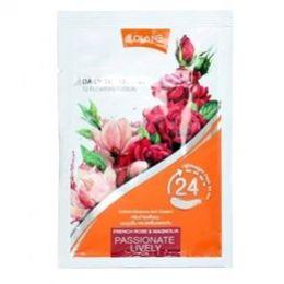 Цветочная маска для волос «Розовый пион и жасмин» 20 мл.Lolane daily treatment sweet glowing.