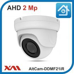 AltCam DDMF21IR.(Металл/Белая). 1080P. 2Mpx. Камера видеонаблюдения.