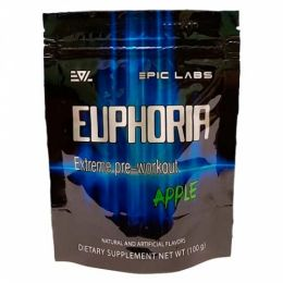 EPIC LABS, Euphoria, дойпак 100гр, Apple