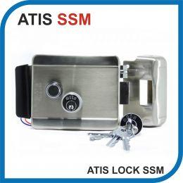ATIS Lock SSM. Замок электромеханический накладной.