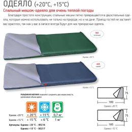 Мешок спальный Одеяло +20С