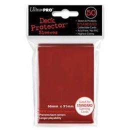 Цветные протекторы Ultra-Pro - Красные (50 шт.)