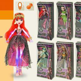 """Лялька """"Monster High"""" 8 видів, муз, світло, в кор.14 * 6 * 33см / 96-2 /"""