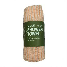 Tamina Easy-Well Shower Towel TS-28 Мочалка для душа оригинальной вязке из гофрированного волокна