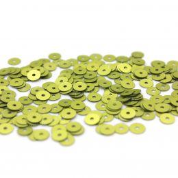 Пайетки плоские 726W Satinati 4 мм 3 гр (Италия)