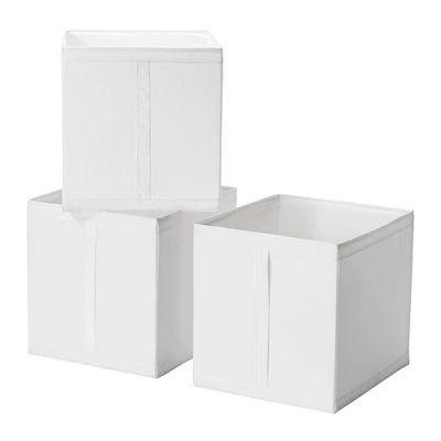 СКУББ Коробка, белый, 31 х 34 х 33 см, 1 шт