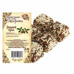 Полезные конфеты Грецкий орех 100г