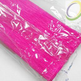 Крепированная бумага, цв.: малиновый 10, Китай, 2,5 м х 50 см
