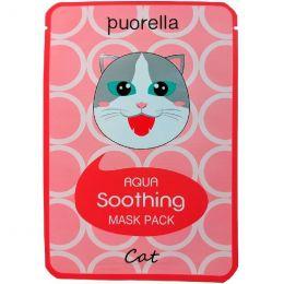 Baroness Animal Mask Cat 23g Увлажняющая тканевая маска с гиалуроновой кислотой и алоэ