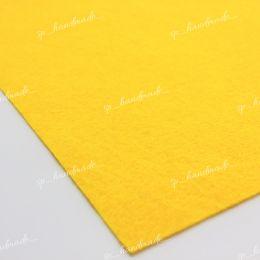 Фетр жесткий 1 мм 20см*30см желтый 1 шт/полиэстер