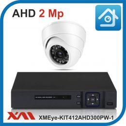 Комплект видеонаблюдения на 1 камеру XMEye-KIT412AHD300PW-1.