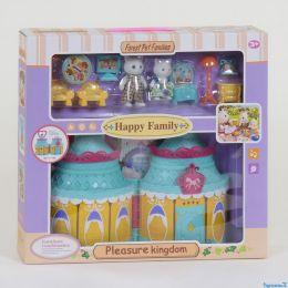 """Домик """"Счастливая семья"""" 20032 (24/2) 2 фигурки, с мебелью, световые и звуковые эффекты, в коробке [Коробка]"""