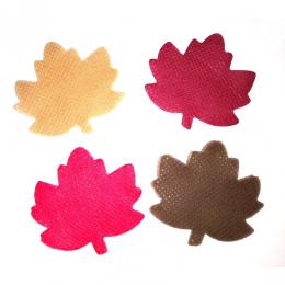 Листья кленовые 5х5 см, в уп.24 шт.