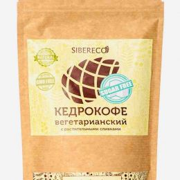 Кедрокофе Вегетарианский на растительных сливках без сахара 90 г