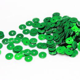 Пайетки плоские 7041 Metallizzati 5 мм 3 гр (Италия)