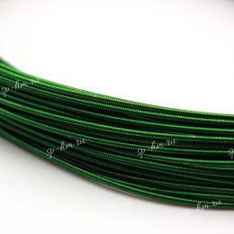 Канитель жесткая Dark Green 1,25 мм 5 гр (Индия)