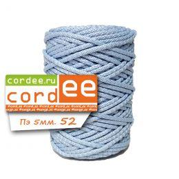 Шнур Cordee, ПЭ5 мм, цв.:52 голубой