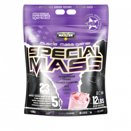 MAXLER Special mass gainer, дойпак 5,45кг. Strawberry