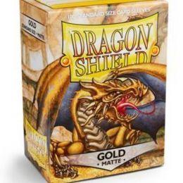Протекторы Dragon Shield матовые золотые