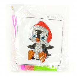 Алмазная мозаика ''Пингвин''