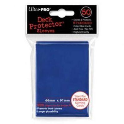 Цветные протекторы Ultra-Pro - Синие (50 шт.)