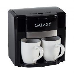 Кофеварка электрическая GALAXY GL 0708 (черная)