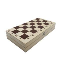 Шахматы обиходные в доске