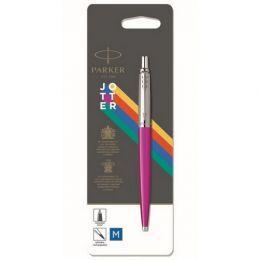Ручка шариковая Parker Jotter Color (2075996) розовый M синие чернила блистер