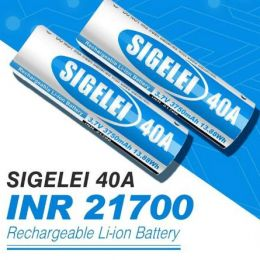 Аккумулятор 21700 Sigelei 3750mah 40A