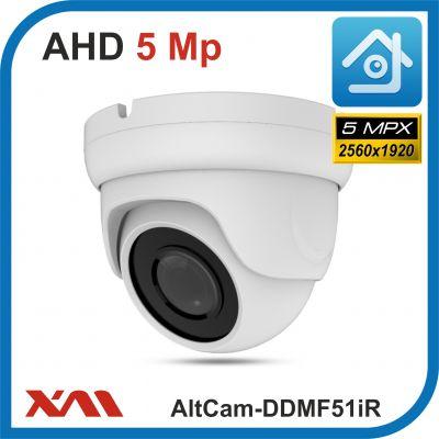 AltCam DDMF51IR.(Металл/Белая). 1920P. 5Mpx. Камера видеонаблюдения.