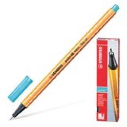 """Ручка капиллярная STABILO """"Point"""", толщ. письма 0,4мм, 88/57, цвет небесная лазурь"""