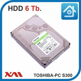 HDD 6 Tb. TOSHIBA PC S300 HDWT360UZSVA. Жесткий диск 3.5.