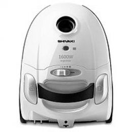Пылесос электрический бытовой SHIVAKI VCB 0120 white