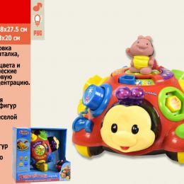 Муз. розвиваюча іграшка 0957 (12шт) муз, світло, мелодії, звуки природи, в кор24 * 12 * 23см
