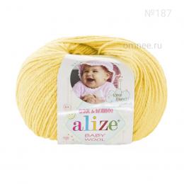 Alize BABY WOOL 187, 40% шерсть, 40 % акрил, 20% бамбук, 50 гр. 175 м.