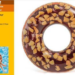 Коло 56262 (12шт) Шоколадний Пончик, 114см, ремкомплект, 9 +, в кор-ке, 20-18-4,5см