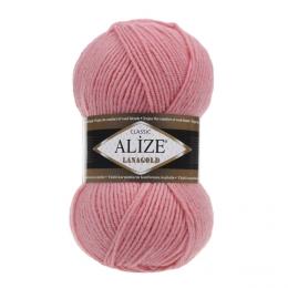 Alize Lanagold 265 (розовый лосось), 49% шерсть, 51 % акрил, 100 гр. 240 м.