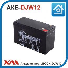 Аккумулятор АКБ LEOCH DJW. 12V/7Ah. Стандарт 13.5-13.8V.