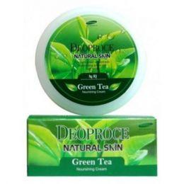 Питательный крем с зеленым чаем [Deoproce] Natural Skin Green Tea Nourishing Cream (100мл)