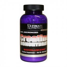 ULTIMATE NUTRITION, creatine monohydrate, банка 300гр.
