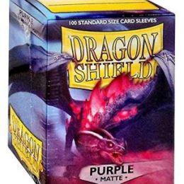 Протекторы Dragon Shield матовые пурпурные (100 шт.)