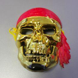 Маска пластиковая Пират череп