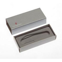 Коробка для ножей VICTORINOX 91 мм толщиной 4-5 уровней, картонная, серебристая
