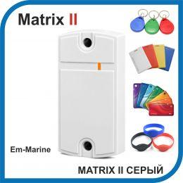 Matrix-II (серый). Считыватель EM-marine.