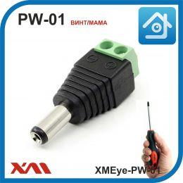 XMEye-PW-01 (винт/мама). Разъем для питания камер видеонаблюдения.