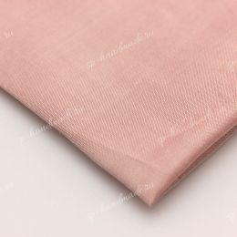 Шелк дикий гладкий розовый Ш-6 / 20см*40см / (Великобритания)
