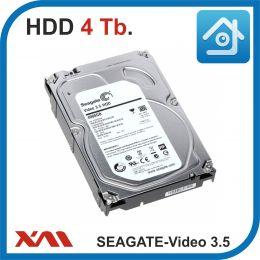 "HDD 4 Tb. Seagate 4Tb Video 3.5 HDD ST4000VM000. Жесткий диск 3.5""."